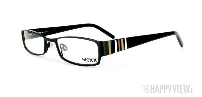 Lunettes de vue Mexx Mexx 5050 noir - vue de 3/4