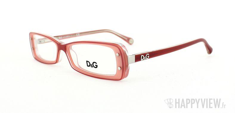 Lunettes de vue Dolce & Gabbana D&G 1227 rose - vue de 3/4