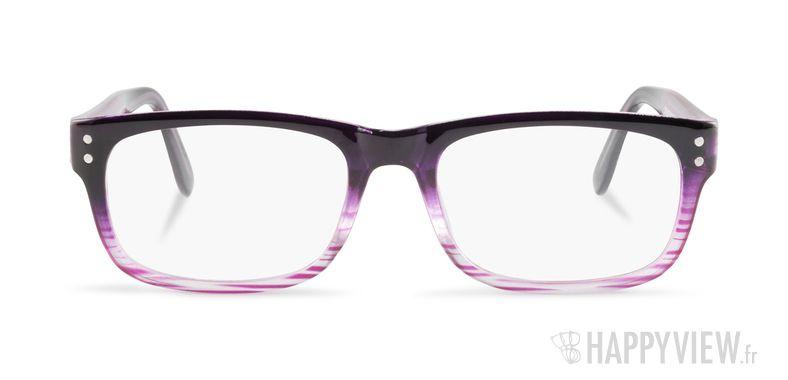 Lunettes de vue Happyview Monaco violet - vue de face