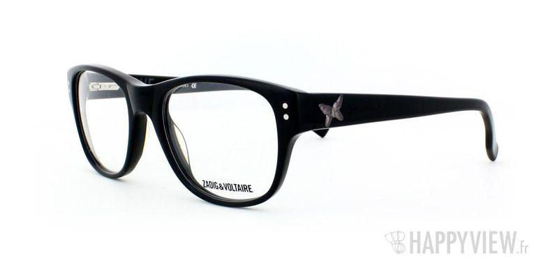 Lunettes de vue Zadig&Voltaire Zadig&Voltaire 1004 noir - vue de 3/4