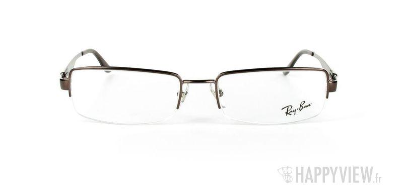 Lunettes de vue Ray-Ban Ray-Ban RX6156 marron - vue de face