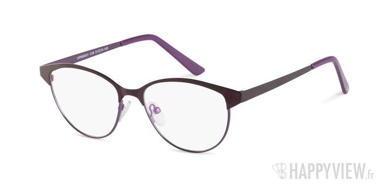 Lunettes de vue Happyview Montessori violet - vue de 3/4