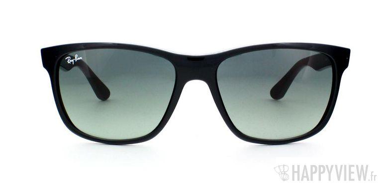 Lunettes de soleil Ray-Ban Ray-Ban RB4181 noir - vue de face