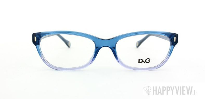 Lunettes de vue Dolce & Gabbana D&G 1205 bleu/bleu - vue de face