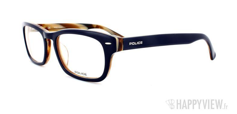 Lunettes de vue Police Police V1697 bleu/écaille - vue de 3/4