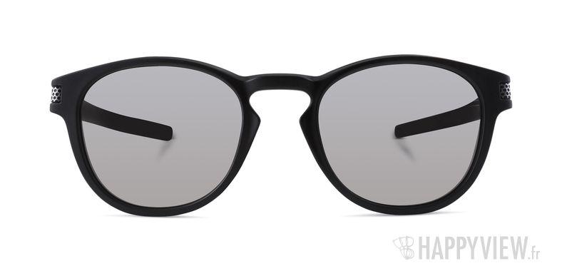 Lunettes de soleil Oakley Latch Machinist noir - vue de face