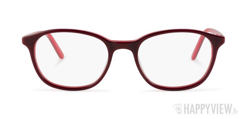 Lunettes de vue Calvin Klein CK 5878 rouge - vue de face