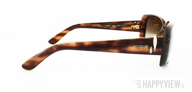 Lunettes de soleil Vogue Vogue 2663S écaille - vue de face