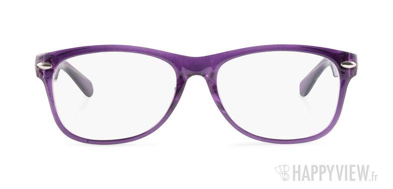 Lunettes de vue Happyview Neuilly violet - vue de face