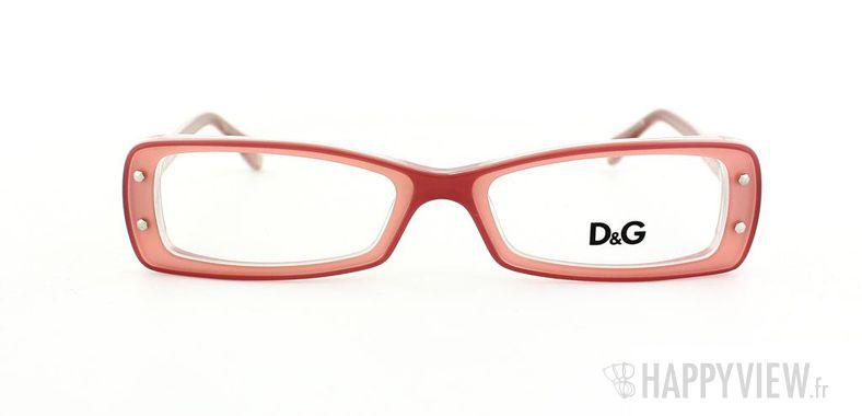Lunettes de vue Dolce & Gabbana D&G 1227 rose - vue de face