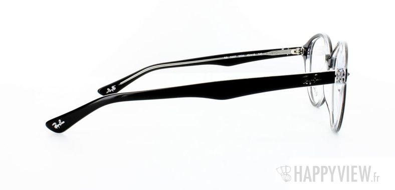 Lunettes de vue Ray-Ban Ray-Ban RX5257 noir/gris - vue de côté