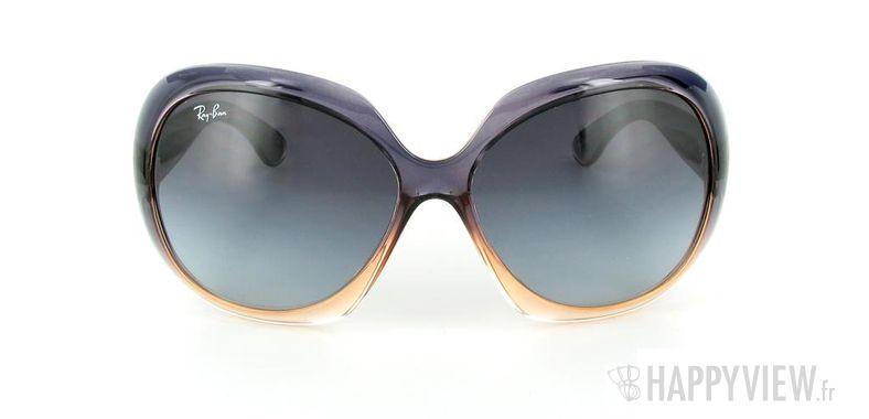 Lunettes de soleil Ray-Ban Ray-Ban Jackie OHH II RB4098 bleu/rose - vue de face