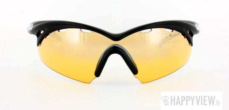 Lunettes de soleil Uvex Uvex Crow Pro noir/blanc - vue de face