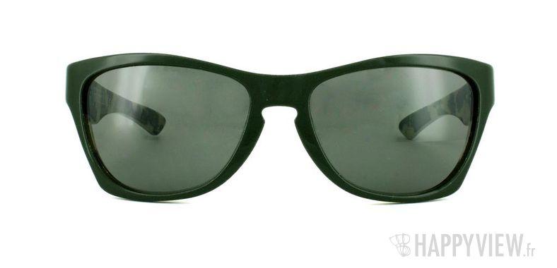 Lunettes de soleil Oakley Oakley Jupiter vert/marron - vue de face