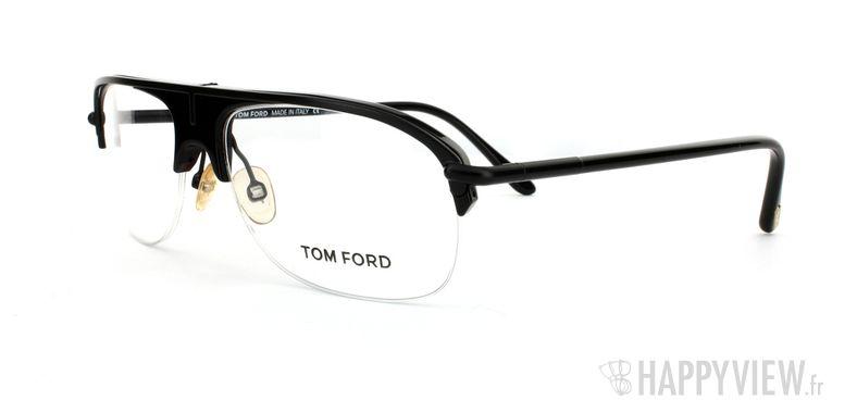 Lunettes de vue Tom Ford Tom Ford 5046 noir - vue de 3/4