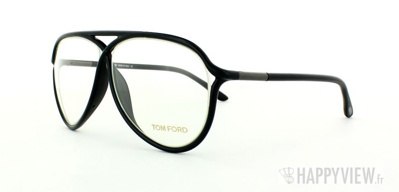 Lunettes de vue Tom Ford Tom Ford 5220 noir - vue de 3/4