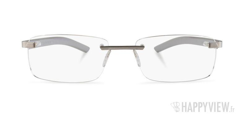 Lunettes de vue Tag Heuer TH 3842 gris - vue de face