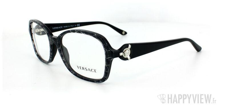 Lunettes de vue Versace Versace 3160 noir - vue de 3/4