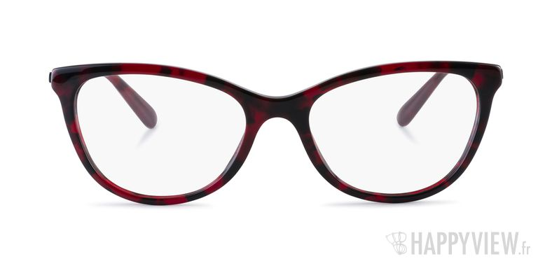 Lunettes de vue Dolce & Gabbana DG 3258 rouge - vue de face