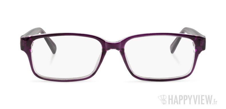 Lunettes de vue Happyview Lorient violet - vue de face