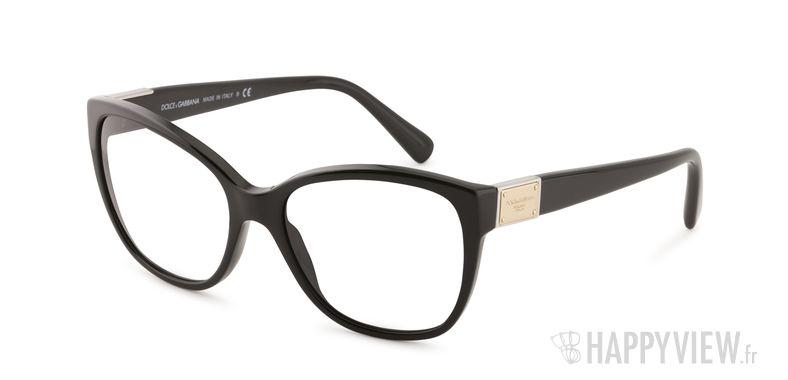 Lunettes de vue Dolce & Gabbana Dolce&Gabbana 4195 noir - vue de 3/4