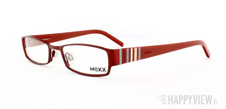 Lunettes de vue Mexx Mexx 5050 rouge - vue de 3/4