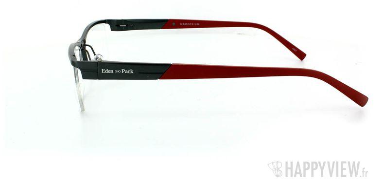 Lunettes de vue Eden Park Eden Park 3557 Magnésium gris/rouge - vue de côté