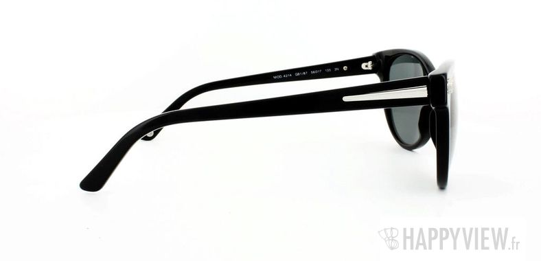 Lunettes de soleil Versace Versace VE4214 noir - vue de côté