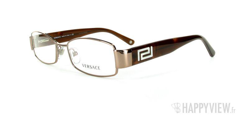 Lunettes de vue Versace VERSACE 1168H marron - vue de 3/4