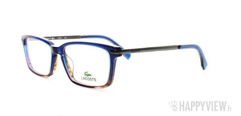 Lunettes de vue Lacoste Lacoste 2720 bleu/écaille - vue de 3/4