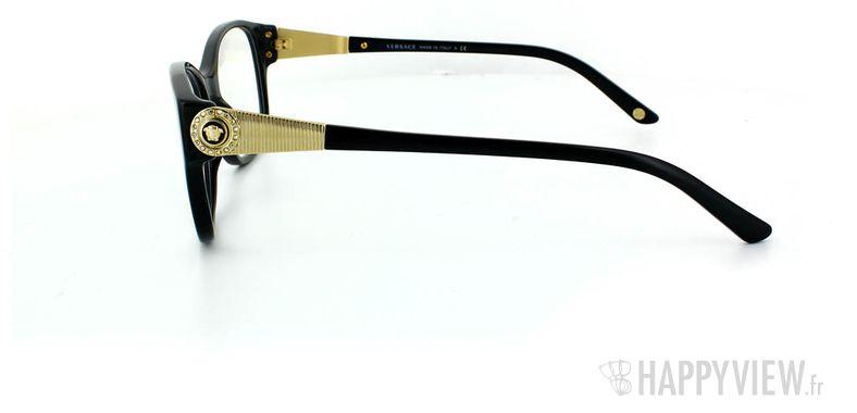 Lunettes de vue Versace Versace 3168B noir - vue de côté