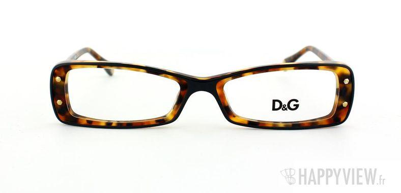 Lunettes de vue Dolce & Gabbana D&G 1227 écaille - vue de face