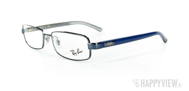 Lunettes de vue Ray-Ban Ray-Ban RX6092 bleu - vue de 3/4