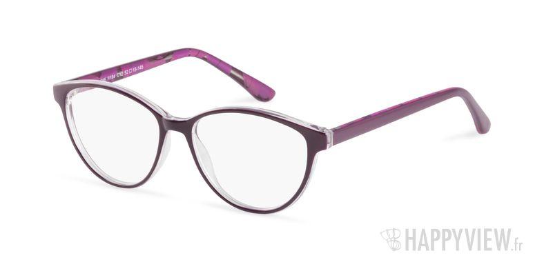 Lunettes de vue Happyview Roanne violet - vue de 3/4
