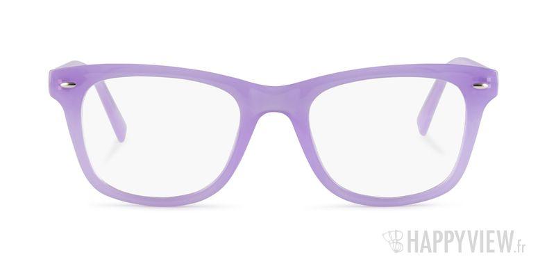 Lunettes de vue Happyview Barcelone violet - vue de face