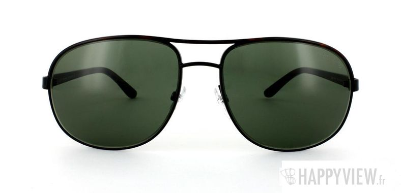 Lunettes de soleil Tom Ford Tom Ford Pierre noir/écaille - vue de face