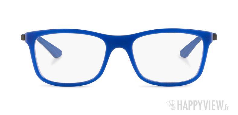 Lunettes de vue Ray-Ban RY 1549 Junior bleu/argenté - vue de face