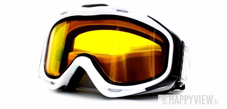Lunettes de soleil Uvex Uvex Uvision (Par dessus vos lunettes) Medium blanc - vue de 3/4