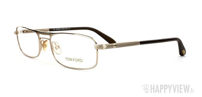 Lunettes de vue Tom Ford Tom Ford 5032 doré - vue de 3/4
