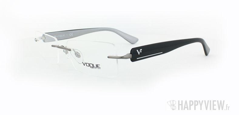 Lunettes de vue Vogue Vogue 3796 noir - vue de 3/4
