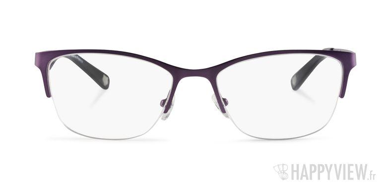 Lunettes de vue Kenzo KZ 2234 violet - vue de face