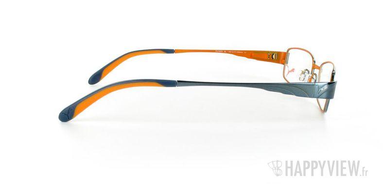 Lunettes de vue Puma Puma 15261 bleu/orange - vue de côté