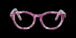 Lunettes de vue Happyview CAPUCINE rose fabriquées en France