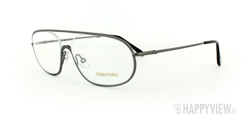 Lunettes de vue Tom Ford Tom Ford 5155 gris - vue de 3/4