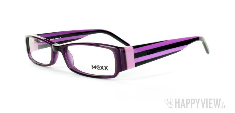 Lunettes de vue Mexx Mexx 5371 bleu/noir - vue de 3/4