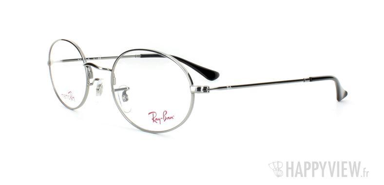 Lunettes de vue Ray-Ban Ray-Ban RX7509 argenté - vue de 3/4