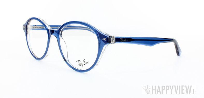 Lunettes de vue Ray-Ban Ray-Ban RX5257 bleu/gris - vue de 3/4