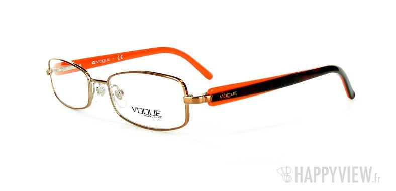 Lunettes de vue Vogue Vogue 3744 marron/orange - vue de 3/4