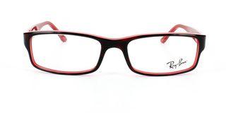 Lunettes de vue Ray-Ban Ray-Ban RX5114 écaille/rouge