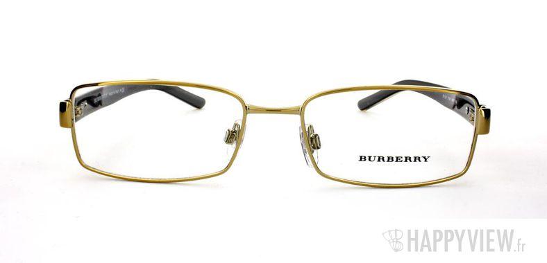 Lunettes de vue Burberry Burberry 1211 doré - vue de face